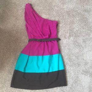 Lily Rose size S asymmetrical dress